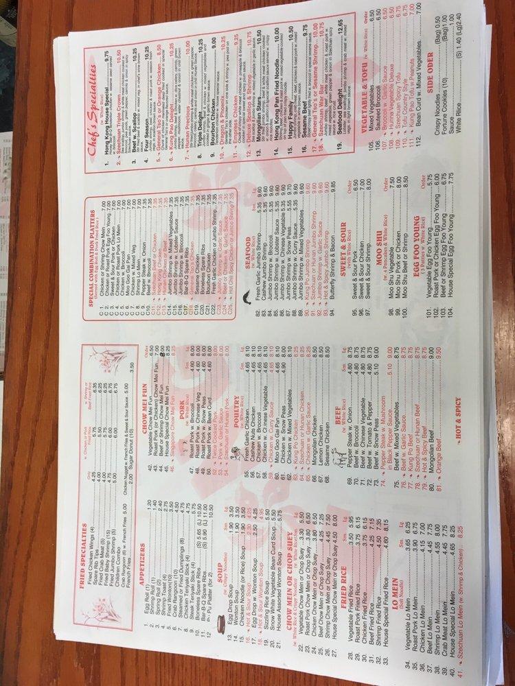 Hong Kong Chinese Restaurant: 11409 Windsor Blvd, Windsor, VA