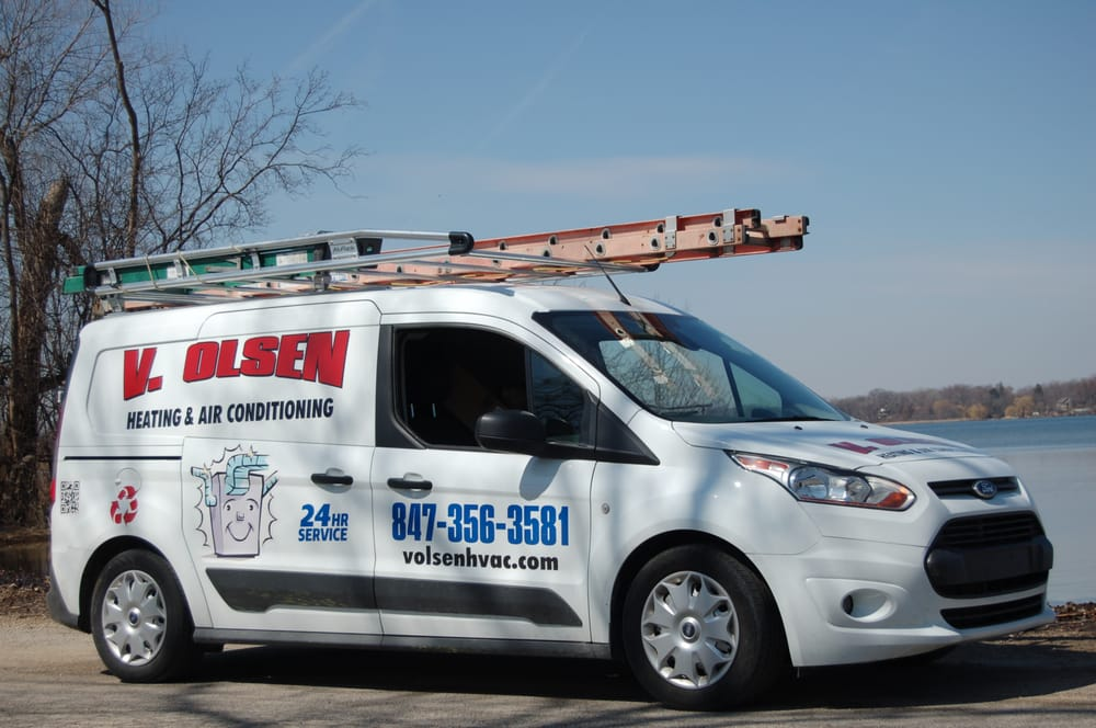 V Olsen Heating & Air Conditioning: 90 Cedar Ave, Lake Villa, IL
