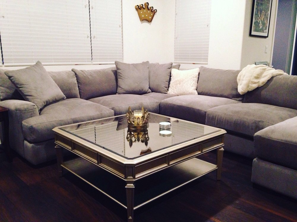 The empire coffee table stunning yelp for Coffee tables z gallerie