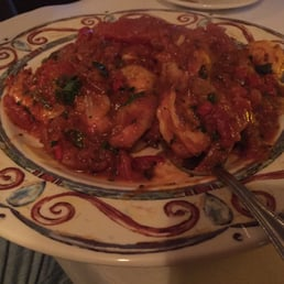 Il Fresco - Orangeburg, NY, United States. Monkfish and shrimp