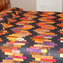 Photo Of Cheryls Fabric Garden   Lanesboro, MN, United States. Quilted Bed  Sheet