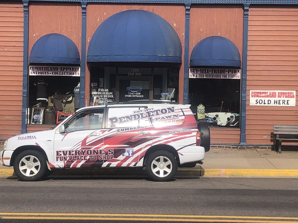 Pendleton Pawn: 1295 2nd Ave, Cumberland, WI