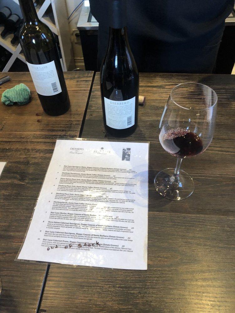 Three California Vineyards Tasting Room