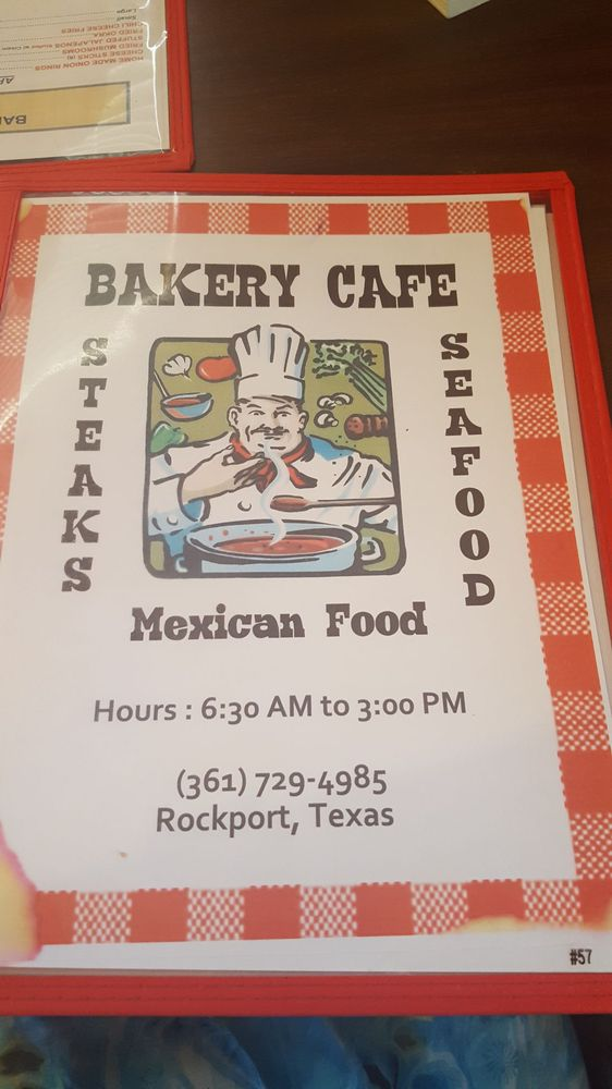 Bakery Cafe Rockport Tx