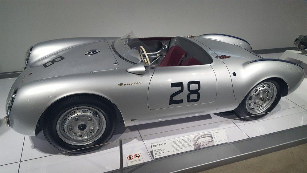 1955 Porsche Spyder  Same model that my favorite actor