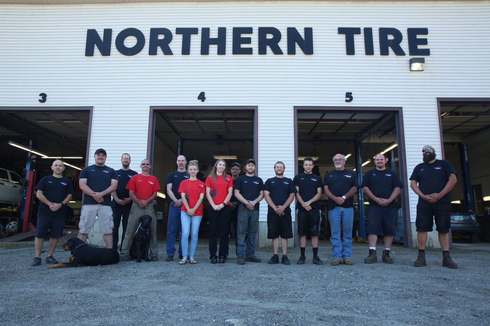 Northern Tire: 9 LaPerle Dr, Colebrook, NH