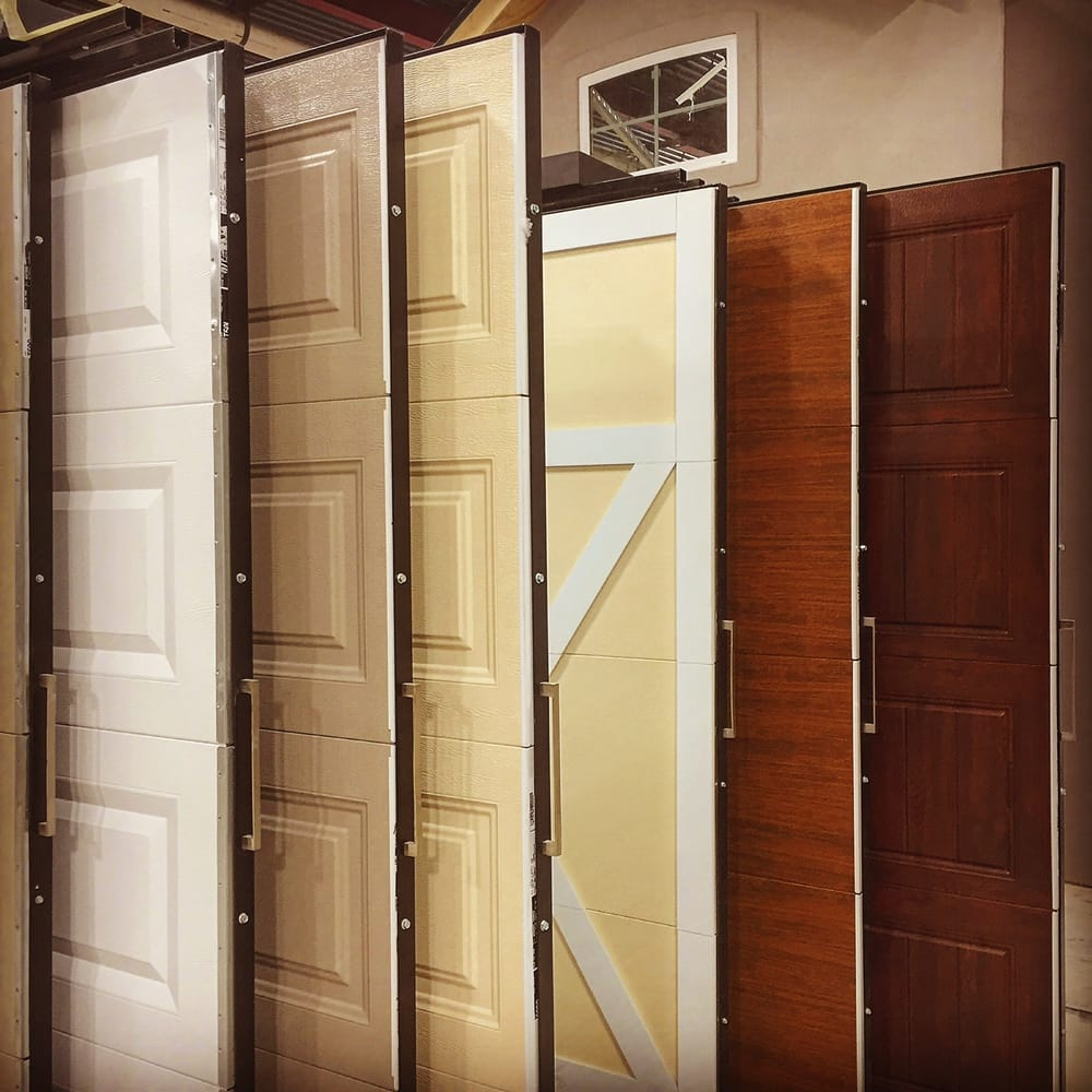 Many Garage Doors To Choose From In Our New Showroom Yelp