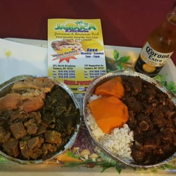 Photo Of Jamaica Kitchen   Yonkers, NY, United States. Left, Medium Order