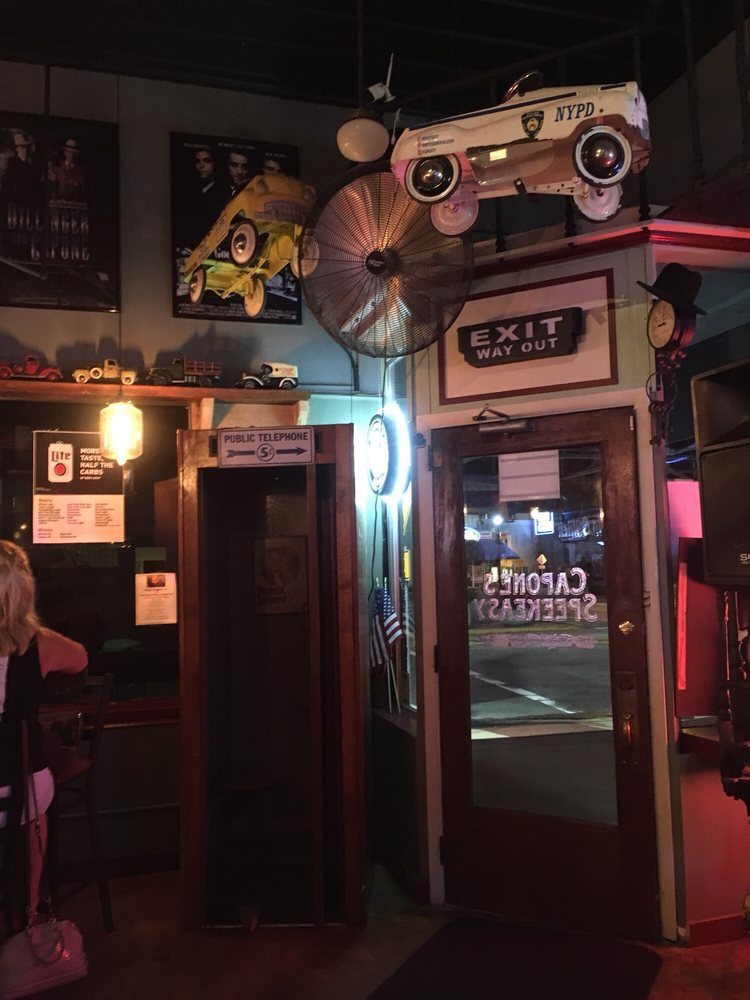Capone's Downtown Speakeasy: 1 Public Square, Shelbyville, IN