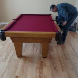 Man Cave Movers Get Quote Photos Movers Delran NJ - Pool table movers nj