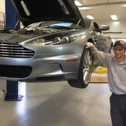 Enthusiast Auto Care - Concord, CA, United States. An Aston Martin!
