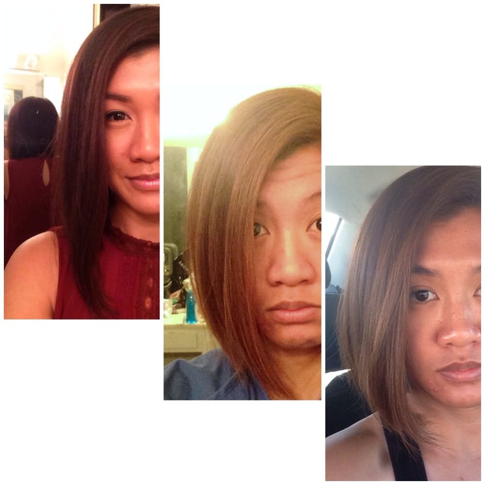Transformation Of My Hair 1 Natural Color 2 Toffeecaramel By