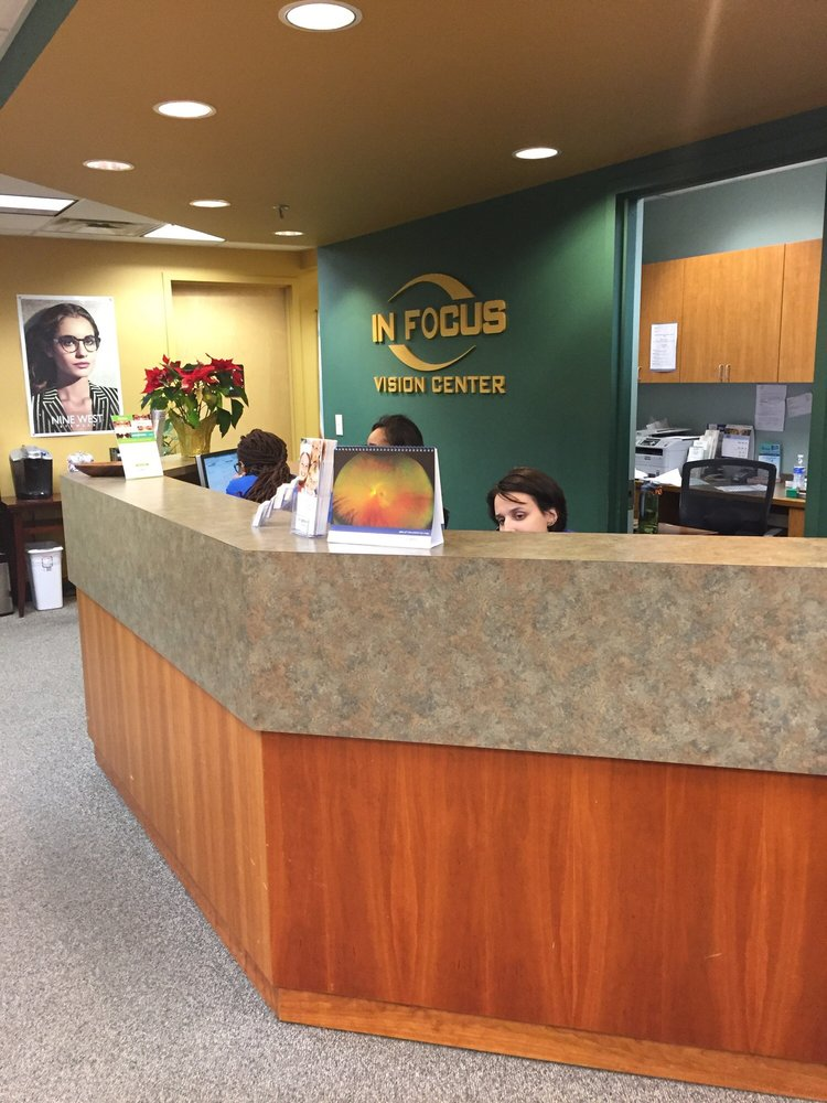 In Focus Vision Center: 1100 Centennial Ave, Piscataway, NJ