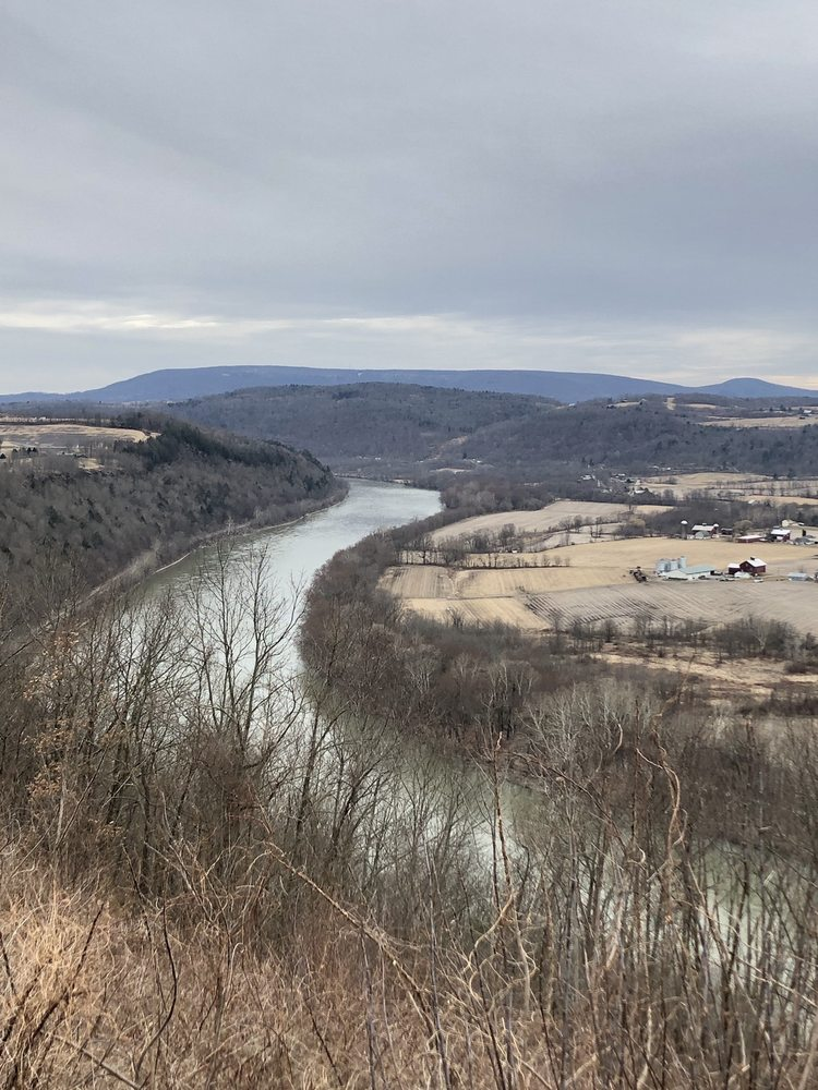 Marie Antoinette Lookout: Route 6, Wyalusing, PA