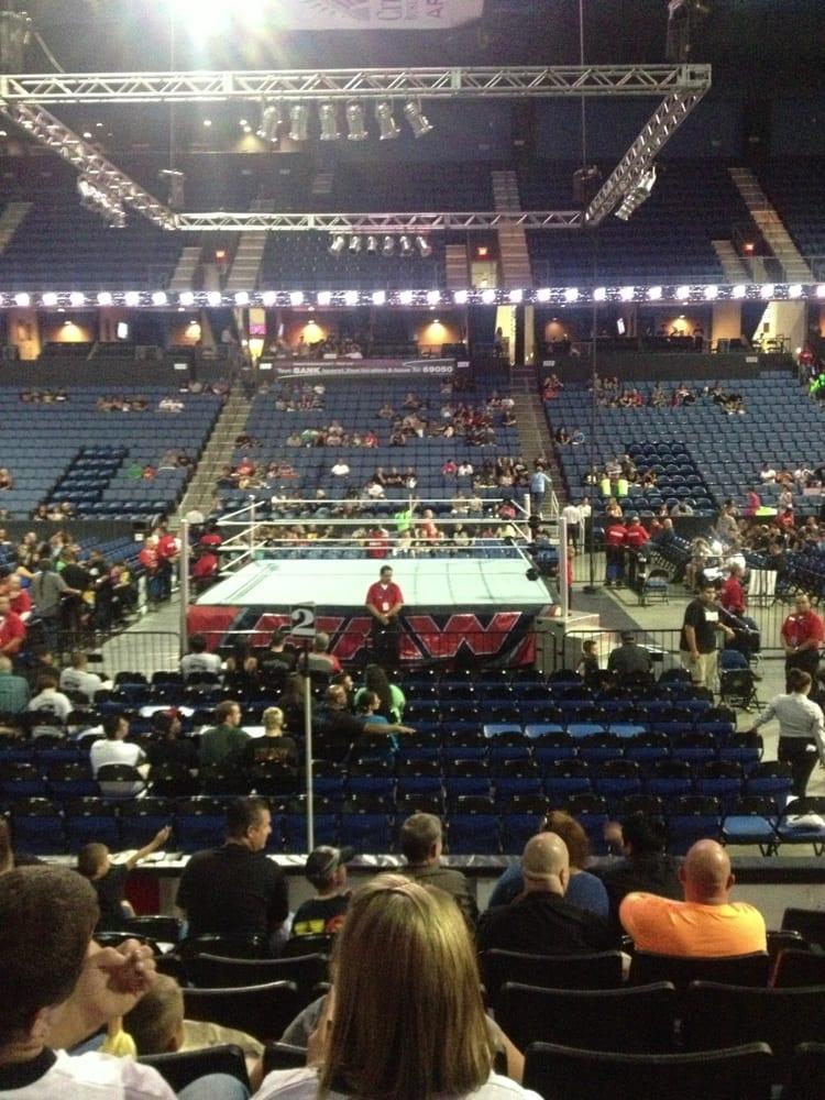 Toyota Of San Bernardino >> WWE LIVE this seat was section 104 row H seats 5,6,7 - Yelp