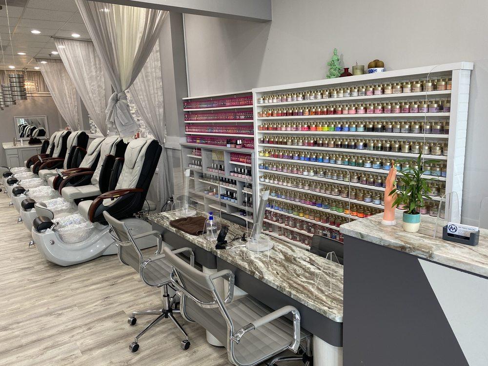 MV Nails salon: 17 Shining Willow Way, La Plata, MD