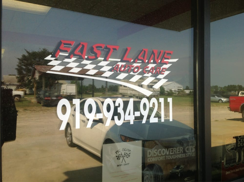 Fast Lane Auto Care: 130 Uzzle Industrial Dr, Clayton, NC