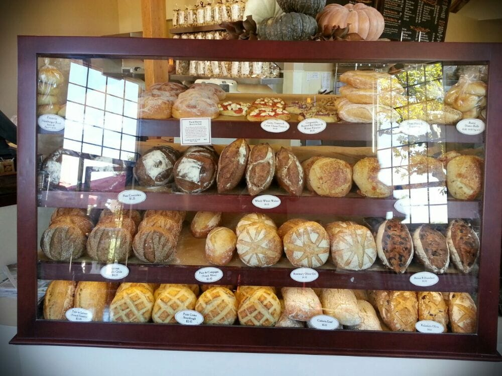 Fresh baked bread display - Yelp