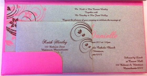 Hindu Wedding Invitations Usa: Boxed Indian/Persian Wedding Invitations