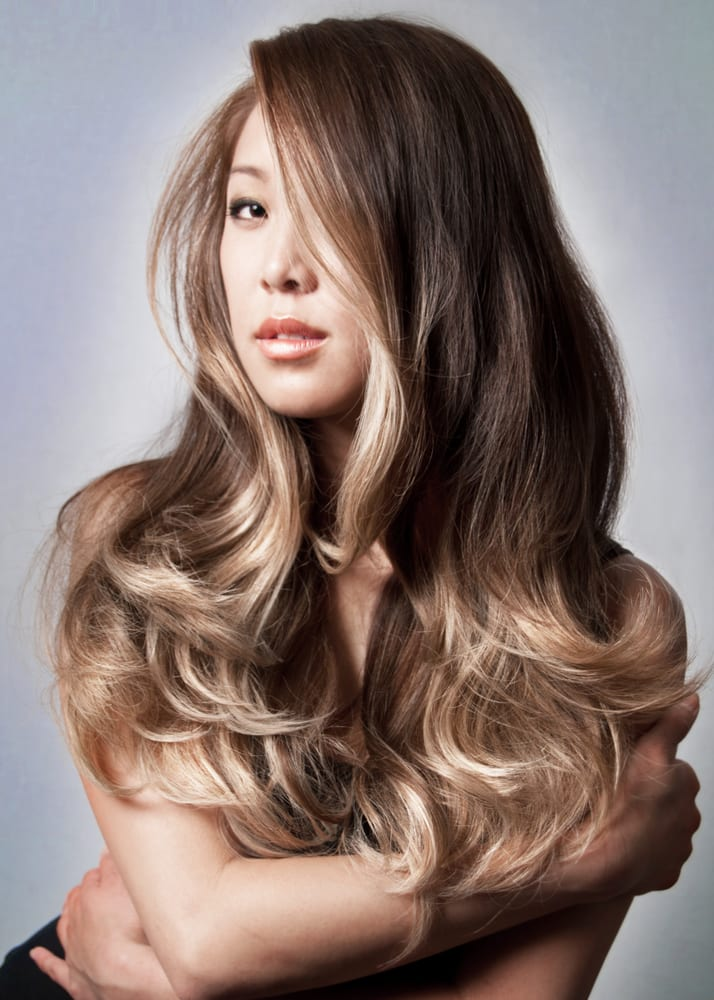 Smoked Ash On Ombre On Asian Hair By Guy Tang Yelp Of Ash