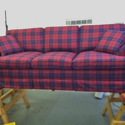 Photo Of Pioneer Valley Upholstery   Florence, MA, United States. Matching  Wool Plaid