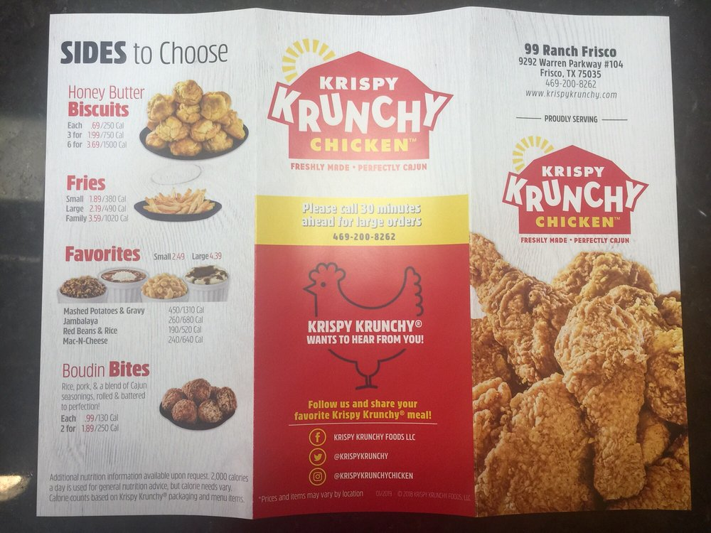 Krispy Krunchy Chicken- Frisco - Order Food Online - 20