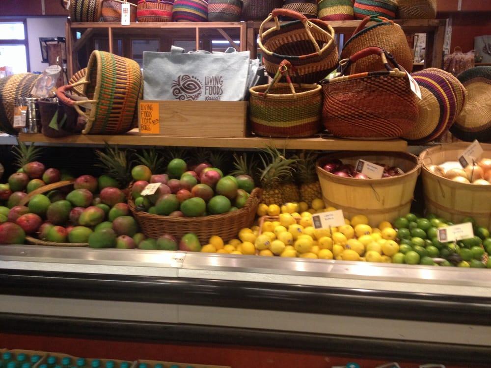 Living Foods Market Koloa Hi