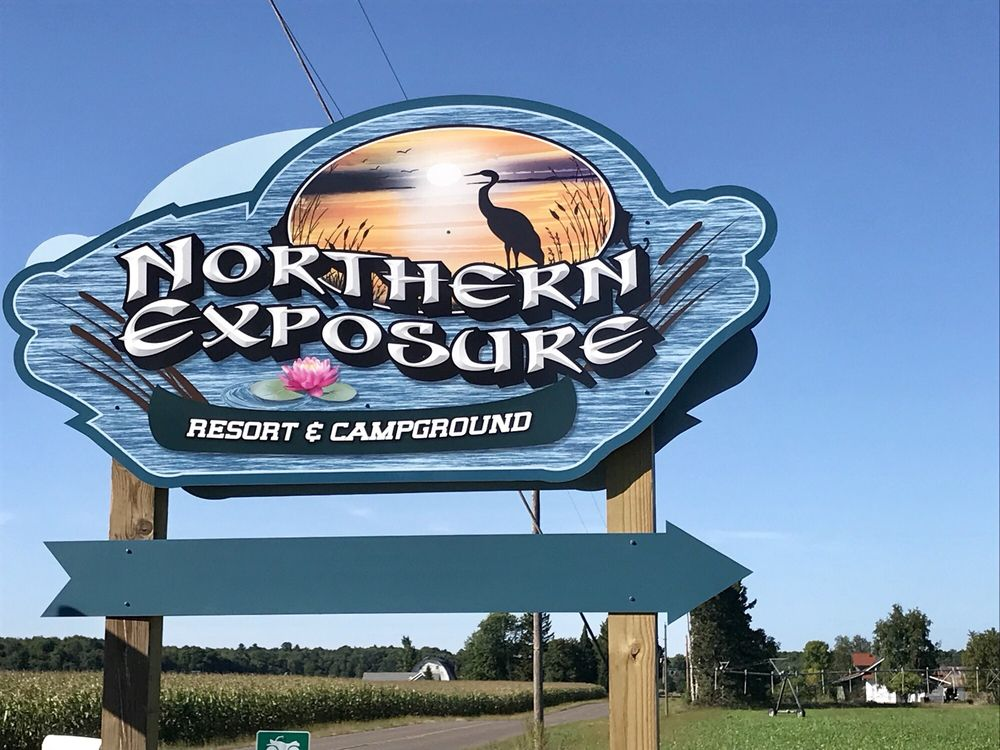 Northern Exposure Resort & Campground: 1075 24 1/4 St, Cameron, WI