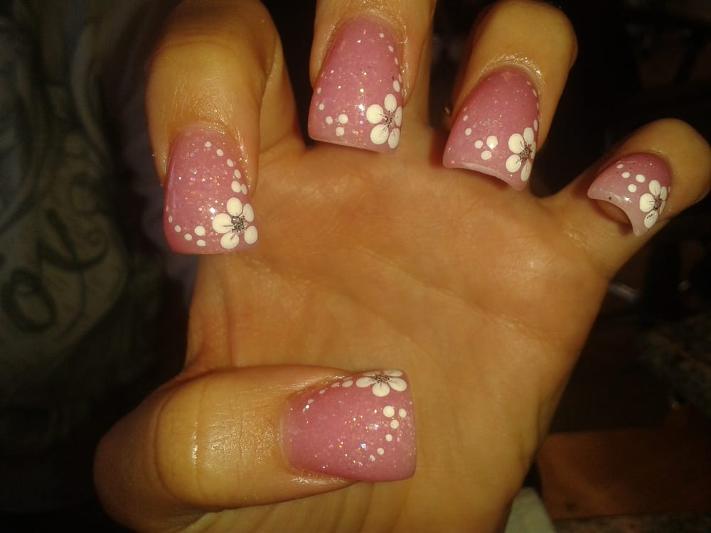 Curve Nail And Design By Jj Nail Care Cost 35 For Fill And Design