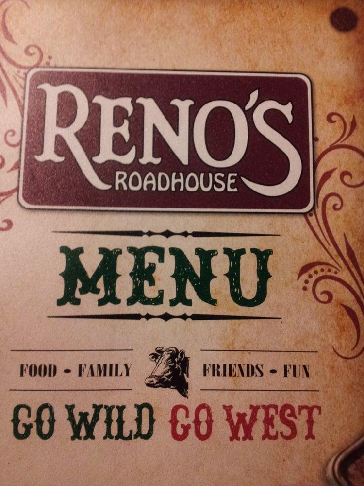 Reno's Roadhouse: 105 Nick Savas Dr, Logan, WV