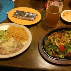 Photo Of Los Agaves Mexican Restaurant Parkersburg Wv United States Vegetarian Fajitas