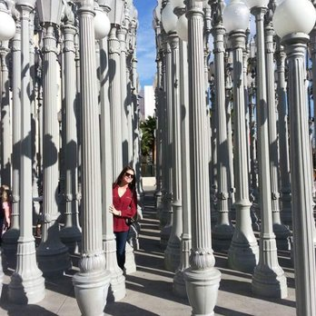 Urban Light at LACMA 1343 s & 345 Reviews Museums