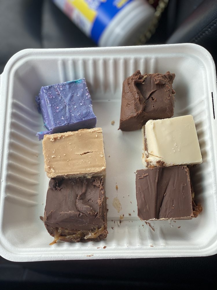 Food from Bailey's Coffee House and Fudge Shop