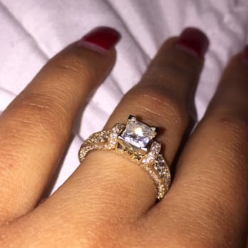 Photo Of Kay Jewelers   Temecula, CA, United States. Yellow Gold Princess  Cut