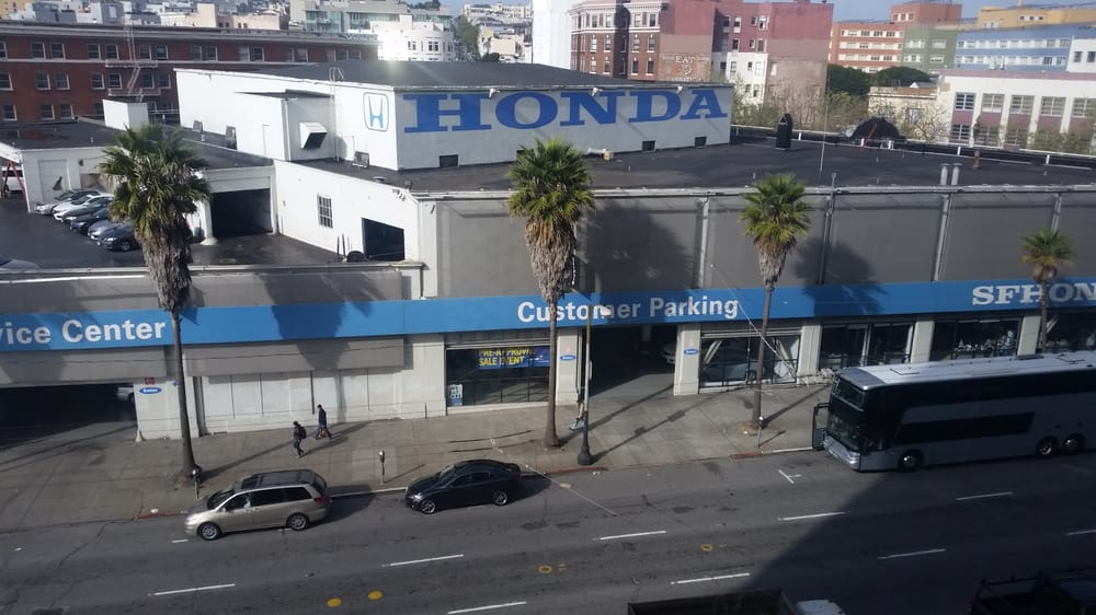 view of honda sf yelp