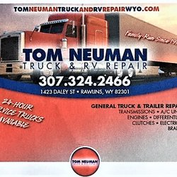 Tom Neuman Truck Amp Rv Repair Rv Repair 1423 E Daley