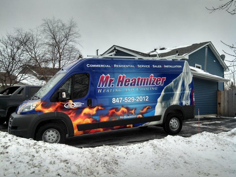 Mr Heatmizer Heating & cooling: 616 Bridgeport Ter, Lindenhurst, IL