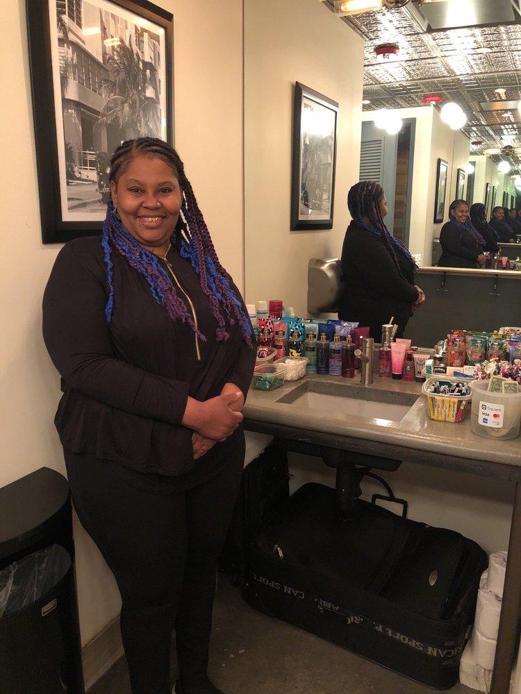 Tonya- The Bathroom Attendant Is Fantastic And Friendly
