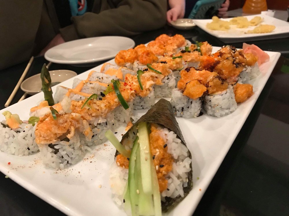 Ikebana Japanese Teriyaki & Sushi: 501 E Naylor Mill Rd, Salisbury, MD