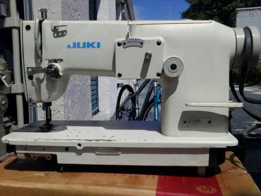 Juki Zigzag And Single Needle Industrial Sewing Machine Model LZ Impressive Miami Industrial Sewing Machines