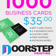 Doorstep printing 10 photos printing services 7300 w 7 mile rd graphics from 40 photo of doorstep printing detroit mi united states business cards colourmoves
