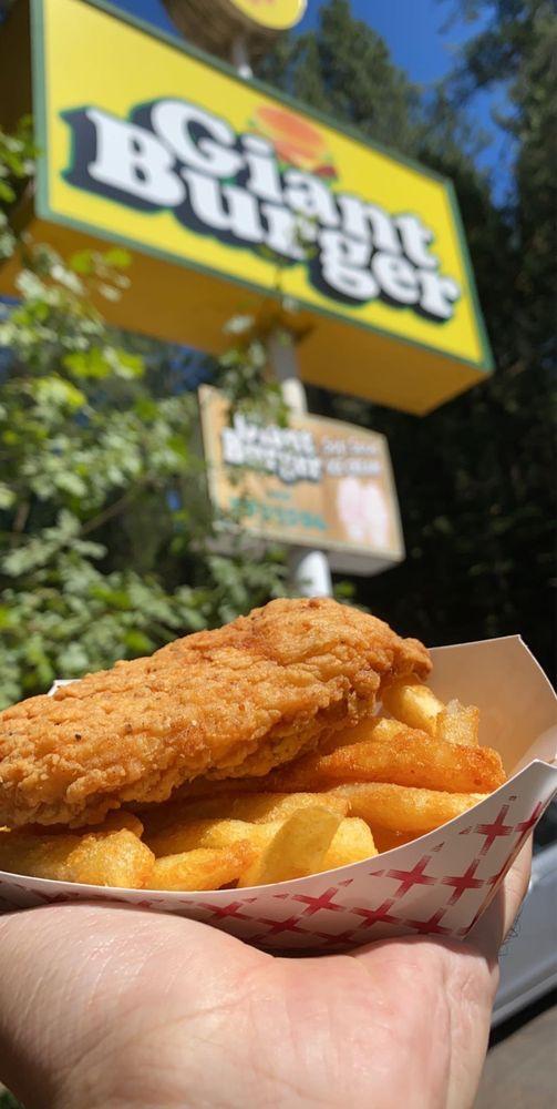Giant Burger: 846 California Hwy 4, Arnold, CA