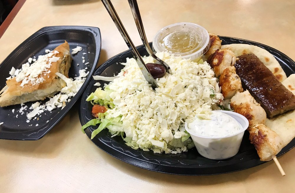 Food from Grecian Corner