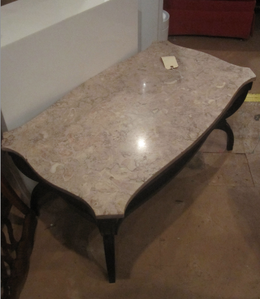 1930s Pink Marble Coffee Table Yelp