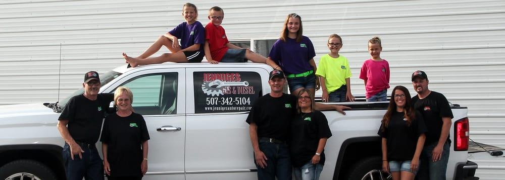 Jenniges Gas & Diesel: 1230 Oak St, Wabasso, MN