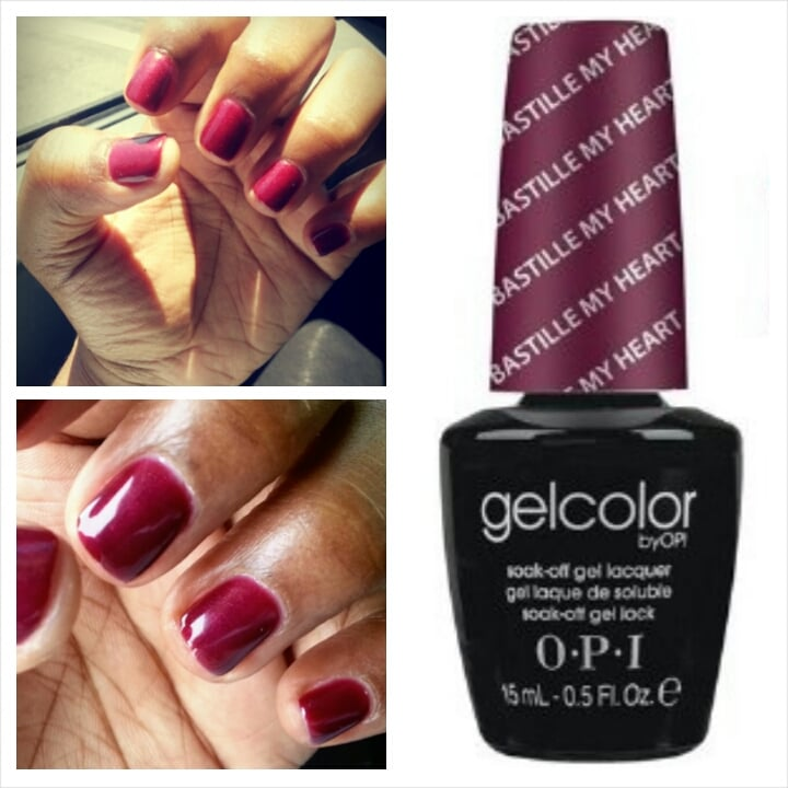 Hollywood Nail And Spa: Gel Manicure, Short And Sweet. O.P.I. Gelcolor
