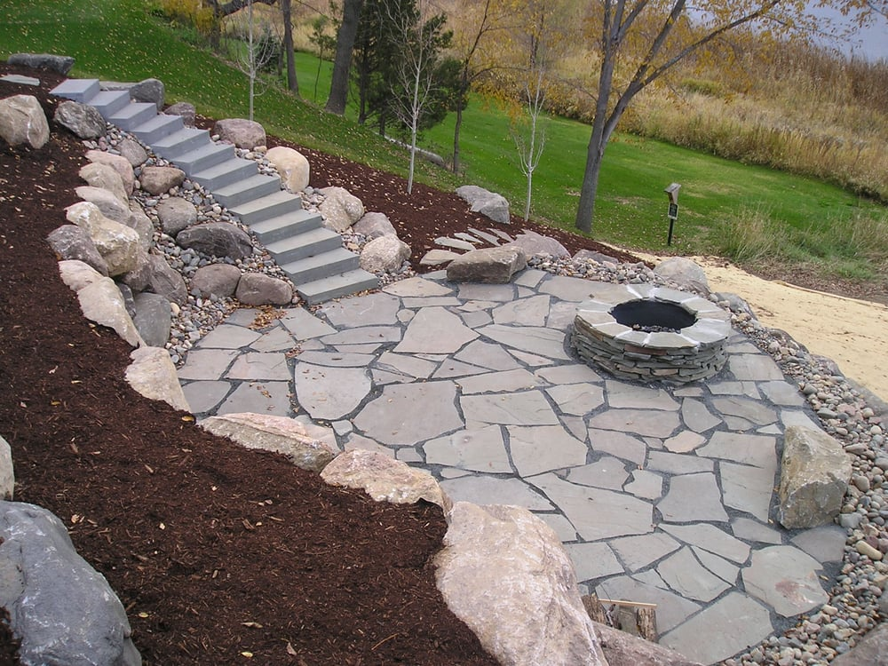 Exceptionnel Photo Of RAM Landscape Services   Winsted, MN, United States. Natural Stone  Patio