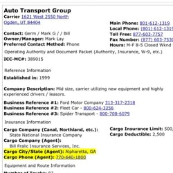 Auto Transport Group - Transportation - 1621 W 2550 N, Ogden