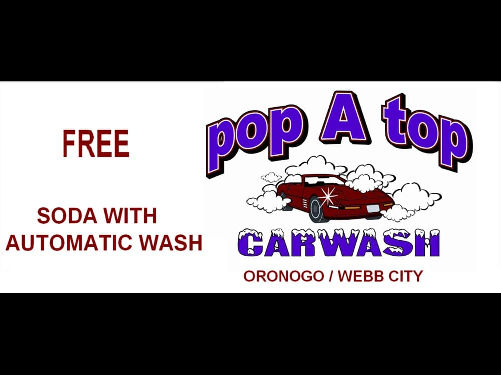 Pop A Top Car Wash: 1703 W MacArthur Dr, Webb City, MO