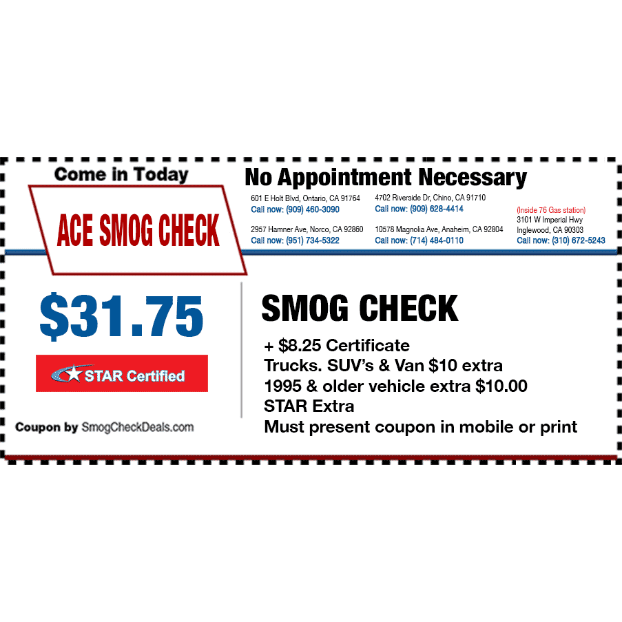 Ace smog center 19 reviews smog check stations 2957 hamner ace smog center 19 reviews smog check stations 2957 hamner ave norco ca phone number yelp xflitez Gallery